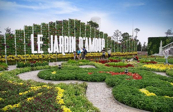 vườn hoa le jardin d amour bà nà