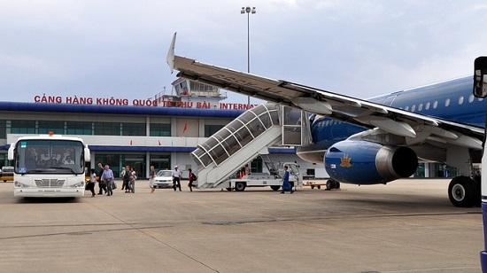 sân bay phú bài huế